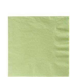 Big Party Pack Leaf Green Lunch Napkins 125ct