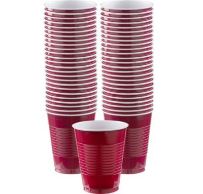 BOGO Berry Plastic Cups 16oz 50ct