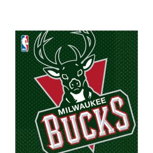 Milwaukee Bucks Lunch Napkins 16ct