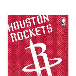 Houston Rockets Lunch Napkins 16ct