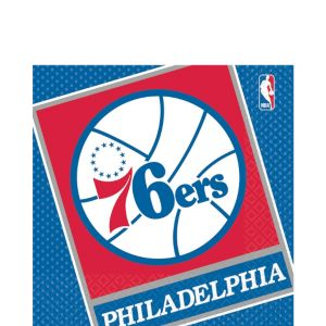 Philadelphia 76ers Lunch Napkins 16ct