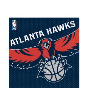 Atlanta Hawks Lunch Napkins 16ct