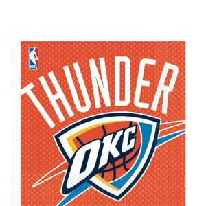 Oklahoma City Thunder Lunch Napkins 16ct