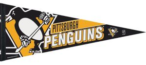 Pittsburgh Penguins Pennant Flag