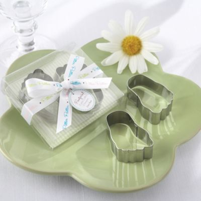 Baby Steps Cookie Cutters Baby Shower Favor 2ct