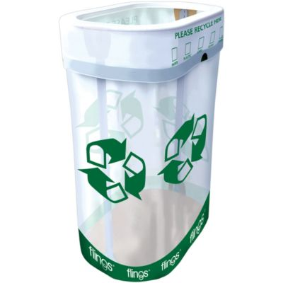 Party Flings® Recycling Pop Up Trash Bin