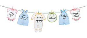 Welcome Baby Garland 6ft