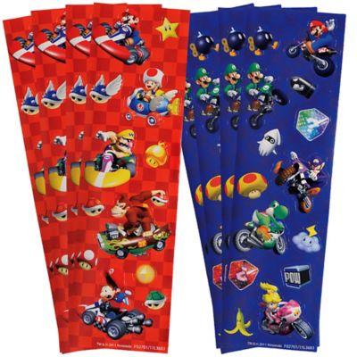 Super Mario Stickers 2 Sheets