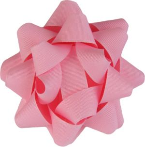 Pink Grosgrain Gift Bow