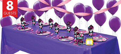 Rocker Girl Party Supplies Basic Party Kit