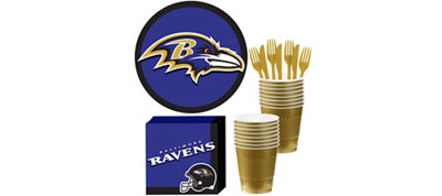 Baltimore Ravens Basic Fan Kit