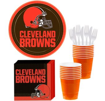 Cleveland Browns Basic Party Kit for 18 Guests