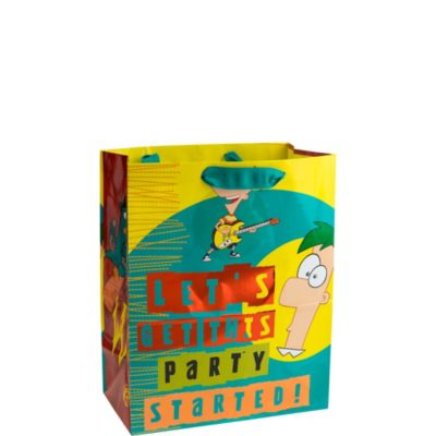 Phineas and Ferb Gift Bag