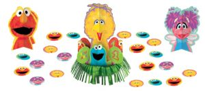 1st Birthday Sesame Street Table Decorating Kit 23pc