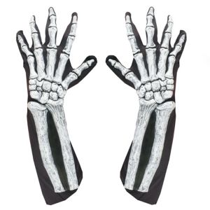 Adult Skeleton Bone Gloves
