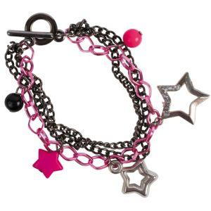 Multi Chain Star Bracelet