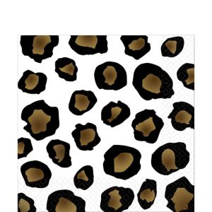 Leopard Lunch Napkins 16ct