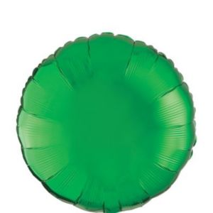 Festive Green Round Balloon