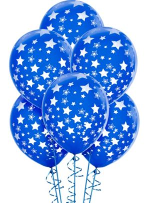 Royal Blue Balloons 6ct