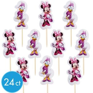Wilton Minnie Mouse Party Picks 24ct