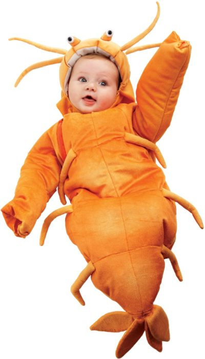Baby Bunting Shrimp Costume