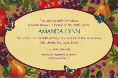 Custom Country Living Invitations