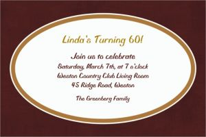 Custom Chocolate Border Invitations