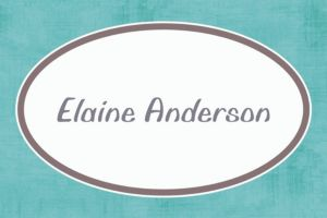 Custom Turquoise Border Thank You Notes