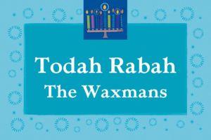 Custom Hanukkah Wishes Thank You Notes