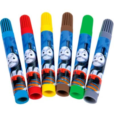 Thomas the Tank Engine Markers 6ct