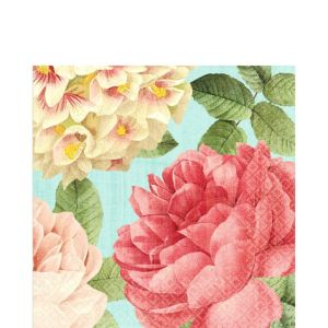 Blissful Blooms Lunch Napkins 36ct