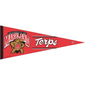 Maryland Terrapins Pennant Flag