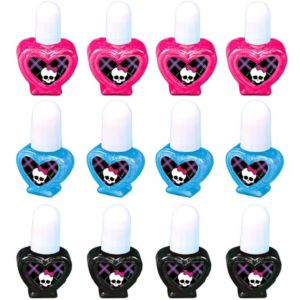Monster High Nail Polish 12ct
