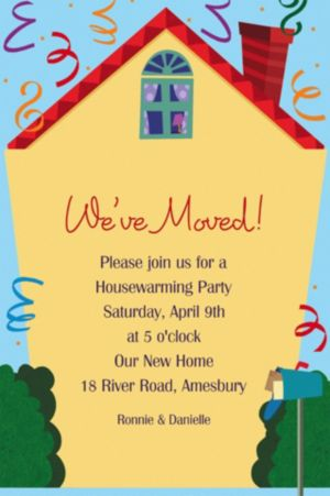 Custom Housewarming Invitations