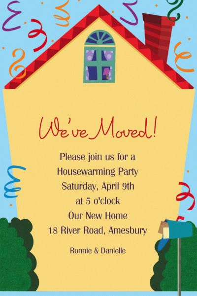 Housewarming Custom Housewarming Invitation