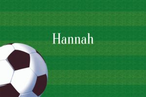 Custom Soccer Fan Thank You Notes