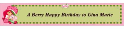 Custom Strawberry Shortcake Banner 6ft