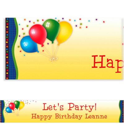 Punchy Birthday Custom Banner 6ft