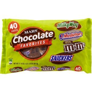 Mars Chocolate Favorites Variety Mix 40pc