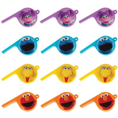 Sesame Street Whistles 12ct