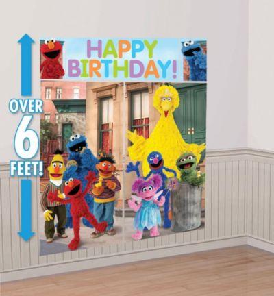 Sesame Street Scene Setter