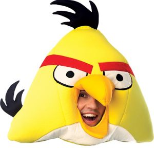 Deluxe Yellow Angry Birds Mask