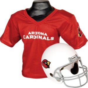 Arizona Cardinals Helmet Jersey Set