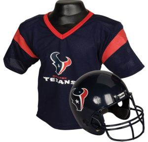 Child Houston Texans Helmet & Jersey Set