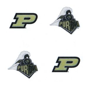Purdue Boilermakers Face Tattoos 4ct