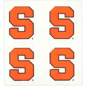 Syracuse Orange Face Tattoos 4ct