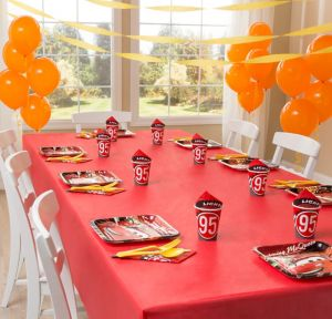 Cars Party Supplies Basic Party Kit for 8 Guests