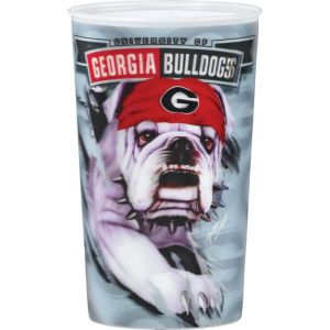 Georgia Bulldogs 3D Cup
