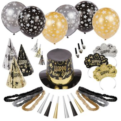 Kit For 50 - Black Tie Affair New Year's Party Kit