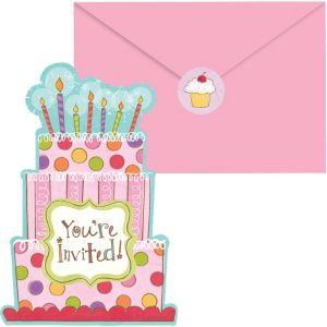 Sweet Stuff Invitations 20ct